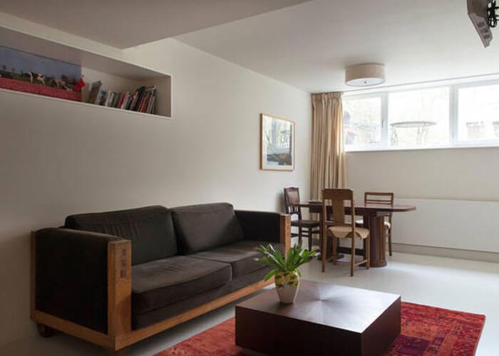 Amstelview riverside apartment